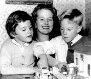 1959, Mrs. Thatcher and her children